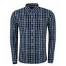 Levi's Blue Western Supima Cotton Checked Sunset One Pocket Shirt S M L XL XXL