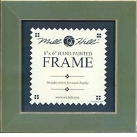 MILL HILL FRAME 6 x 6 in Fits Button & Bead Cross Stitch Kits OLIVE GREEN