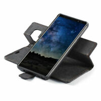 Removable Leather Magnetic Flip Cover Wallet Case For Samsung Galaxy Note9 S9 S8