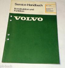 Werkstatthandbuch Volvo Heizung / Standheizung Typ 07-B 01-B/01-D, St. 02/1984