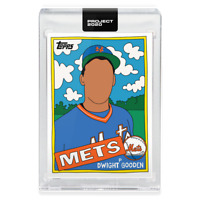 Topps PROJECT 2020 Card 119 - 1985 Dwight Gooden by Fucci **Presale**