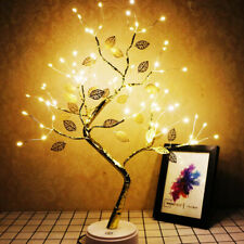 Lichtbaum LED Lichterbaum Nachtlicht Baum Tischlampe Wohnzimmer Weihnachtsdeko