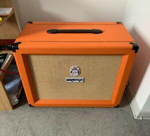 orange speaker cabinet 1x12 Celestion vintage 30. mint condition. used twice!