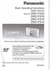 Manuals and Guides for Panasonic Camera