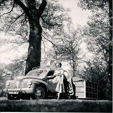 Auto c. 1950 - RENAULT 4 CV Remorque-Caravane - Div 12207