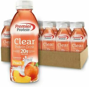 Premier Protein Clear Drink Peach (12/16.9 Fl Oz Net Wt...