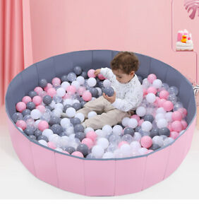 Large Foldable Kids Game Play Toy Tent Ocean Ball Pit Pool Children Baby Indoor