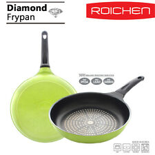 [ROICHEN] Diamond Coating Pan Non - Stick Coating frying pan 26cm RDD-26F/O