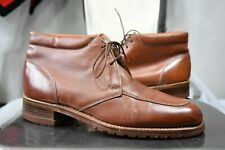vintage Hanover imperial ankle boots 10 D/B moc toe chukka made in USA 70's