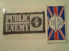 Vintage  PUBLIC ENEMY  80s 90s  Unused PATCH rap hip hop nwa wu tang lp t shirt