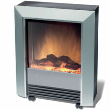 Dimplex Lee Silver Electric FireHeater (245784)