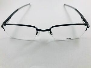 New Authentic Oakley Eyeglasses OX 3111 0252 Rhinochaser satin black w case