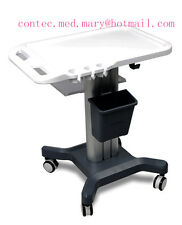 CONTEC Mobile Trolley Cart for Laptop Ultrasound Scanner Machine, Split Handpush