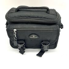 Samsonite Black Padded SLR Camcorder Camera Bag Handle with Shoulder Strap