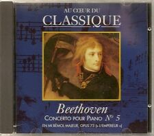 CD CLASSIQUE * MARSHALL CAVENDISH 01 * BEETHOVEN CONCERTO POUR PIANO N° 5