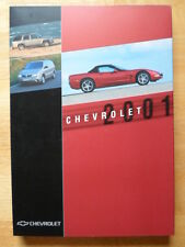 CHEVROLET 2001 Range Luxury Press Pack Geneva Motor Show - Corvette Trail Blazer