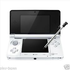 Exc Nintendo 3DS Ice White System Console with Battery & SD Card Japanese ver.