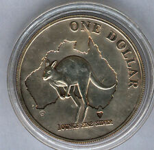Australia 2000 1 dolar 1 onza plata pura CANGURO