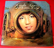 Linda Lewis Fathoms Deep LP UK ORIG '73 Die-Cut Sleeve+Inner Raft RA 48501 VINYL
