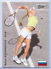 "ANNA KOURNIKOVA 2003 ""1ST EVER PRINTED"" NETPRO ELITE ROOKIE CARD #E4! (serving)"