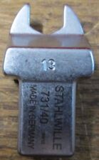Stahlwille 58214013 13mm Open Ended Insert Tool 731/40 SW