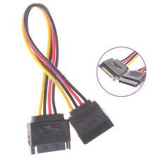 P26 15pin PC SATA Kabel Stromkabel Stecker auf Buchse Verlängerung Stromadapter