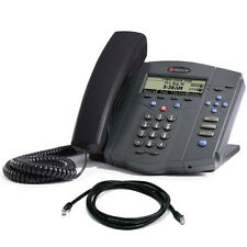 Polycom SoundPoint IP 430 IP Phone in Nero