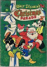 Walt Disney's Christmas Parade, No. 2, 1950, Golden Age Comic Book