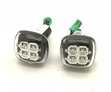 derecha izquierda Luz Lateral Indicador LED negro para AUDI A4 Avant 8d5 B5