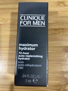 CLINIQUE for MEN Maximum Hydrator 72-Hour Auto-replenishing Face 0.24oz 7ml