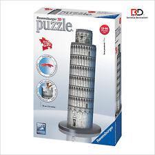 "Puzzle 3D Ravensburger 12557 "" Torre Di Pisa "" 216 pz"