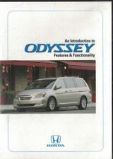 Honda An Introduction to ODYSSEY Features & Functionality DVD 2004