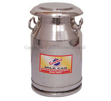 Shoof Milk Can Stainless Cowbell 20L w Lid