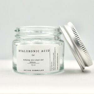Hyaluronic Acid Gel, Hydrating, Skin Volume and Fullness, pre mixed ready to use