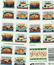 DELICIOSO STAMP BOOKLET -- USA #5197b FOREVER 2017