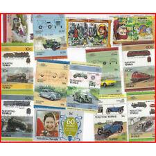 Nukufetau 25 timbres de collection tous différents.
