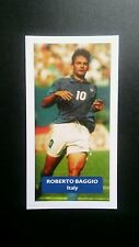 Italie-Juventus-Roberto Baggio Score UK Football Trade Card