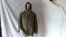 VINTAGE 1980's MILITARY GREEN CANVAS ANORAK - NEW!