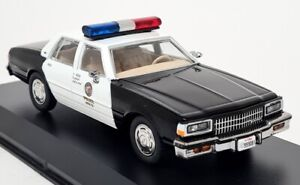 Greenlight 1/43 - 1987 Chevrolet Caprice Police Car Terminator 2 Judgement Day