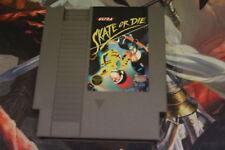 Skate or Die, NES Games Tested USED