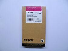 Original Epson T6033 magenta Stylus Pro 7880 9880 220ml --- OVP 06/2019