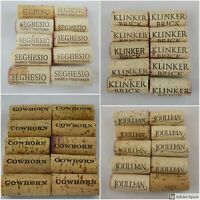 10 PREMIUM Solid Cork Real NATURAL Used Wine Corks - You Choose Brand(s)