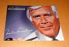 Joachim *Blacky* Fuchsberger († 2014*), original signiertes Foto in 20x27 cm