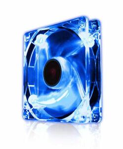EZ Cool 120mm LED Fan, Blue Super Silent  Model EZF12020