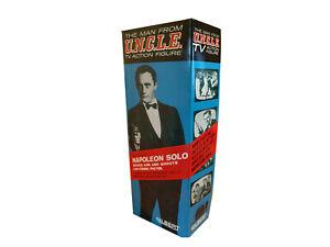 """Gilbert Toys Man From U.N.C.L.E Napoleon Solo 12"""" Figure Repro Box"""
