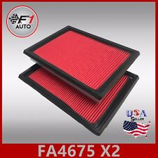 FA4675(X2PCS) PREMIUM ENGINE AIR FILTER for 2014-2017 Q70 & 2015-2017 Q70L 5.6L