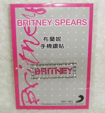 Britney Spears The Singles Collection Taiwan Promo sticker for cell phone