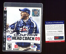 Tony Dungy Auto Signed Head Coach 09 PS3 Playstaion 3 PSA/DNA Authentic HOF