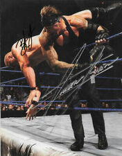 THE UNDERTAKER & BROCK LESNAR SIGNED PHOTO 8X10 RP AUTOGRAPHED WWF WWE WRESTLING