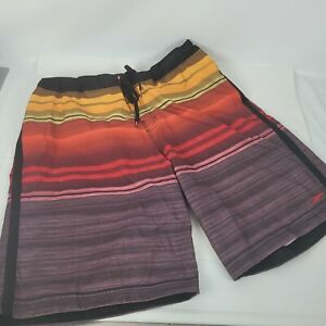 Speedo Mens Swim Trunks Board Shorts size XL Elastic Waist w/Pockets